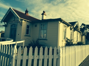 I think this is the Opotiki courthouse. It may be the first cute courthouse I've ever encountered.